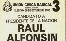 Restauración democrática: A 37 años del triunfo de Alfonsín