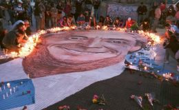 Caravana homenaje a Néstor Kirchner
