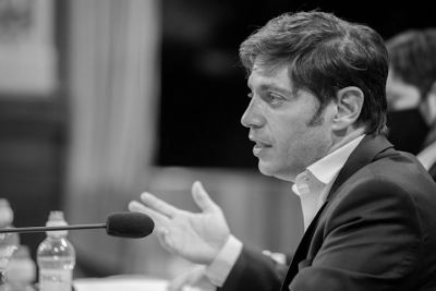 Axel Kicillof, en medio de una importante disputa interna.