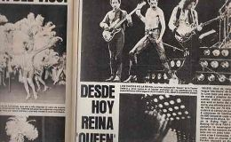 A 40 años del 1er show de Queen en Argentina