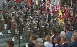 Polonia recordó su levantamiento contra el nazismo
