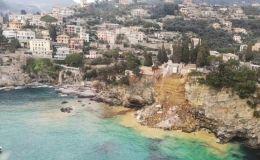 Italia: Derrumbe en cementerio y ataúdes caen al mar