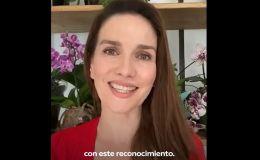 Natalia Oreiro agradecida por la ciudadanía rusa