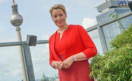 Franziska Giffey, primera mujer alcaldesa de Berlín