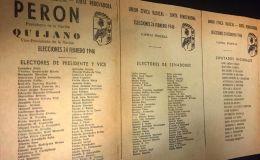 A 75 años del primer triunfo electoral de Juan Domingo Perón