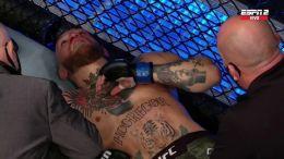 En su vuelta al octágono, McGregor cayó por KO